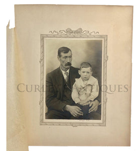 Father & Child Anonymous Master Portrait Photographer