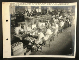 WWI Munitions Pittsburgh Factory Women's Labor Photo Archive