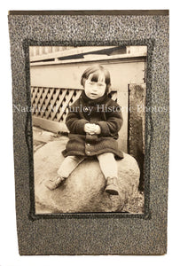 Vintage 1930s Differently Abled Child Portrait Photo