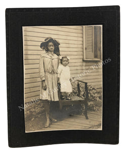 1900s Compelling African American Family Photo