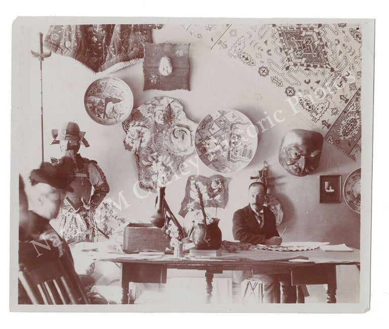 1890s Victorian Japanese Art Dealers Gallery Photos