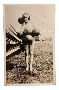 1920s BALLOON Flapper Carnival Girl Photo