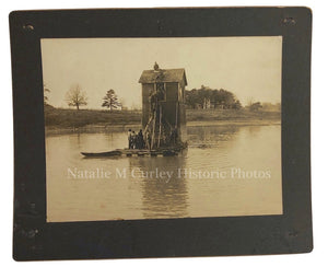 1900s LAKE Construction Crew Labor Photo