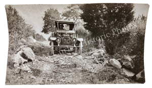1920s Ford Model T Cross Country Stunt Drive Snapshot Photos