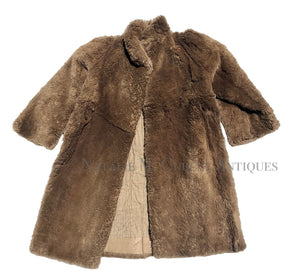 INCREDIBLE 19thc Frontier Homesteader Infant Child's Coat