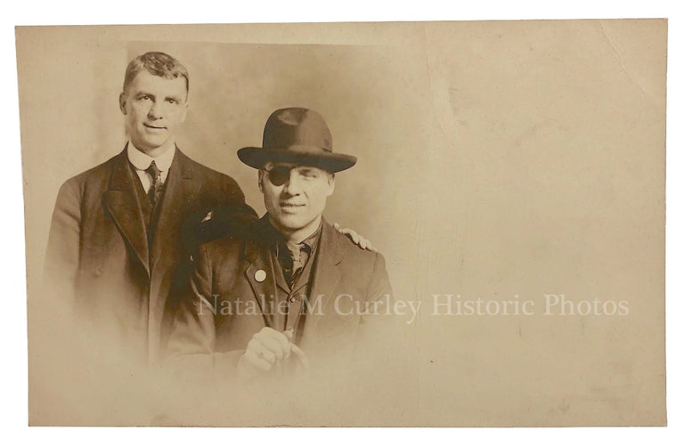 1900s Proud & Tender Family Eyepatch Photo RPPC
