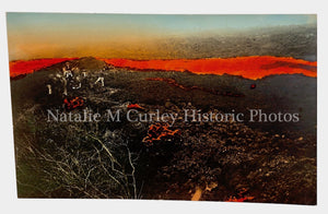 PR 1920s Volcanic Eruption Lava Photos RPPC