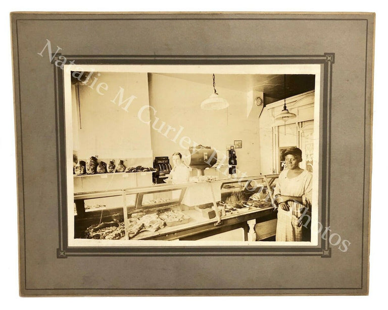 1930s Integrated Butcher Shop Consumer Photo