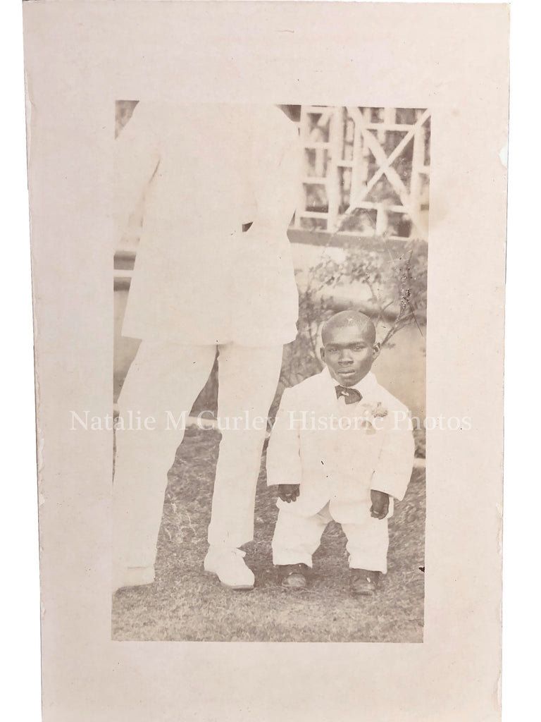 1910s African Diaspora Medical Ability Portrait Photo RPPC