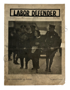 Vintage 1926 Labor Union Defender Social Reform Fugitive Lit Magazine
