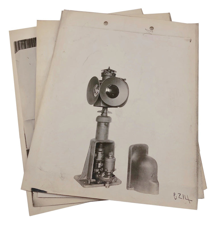 1900s Railroad Train Signals Factory Product Photos