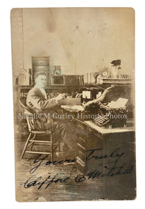1920s Prison Photographer Salesman Sample RPPC Photo