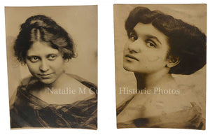 1910s Subtly Risque Edwardian Womens Portraits