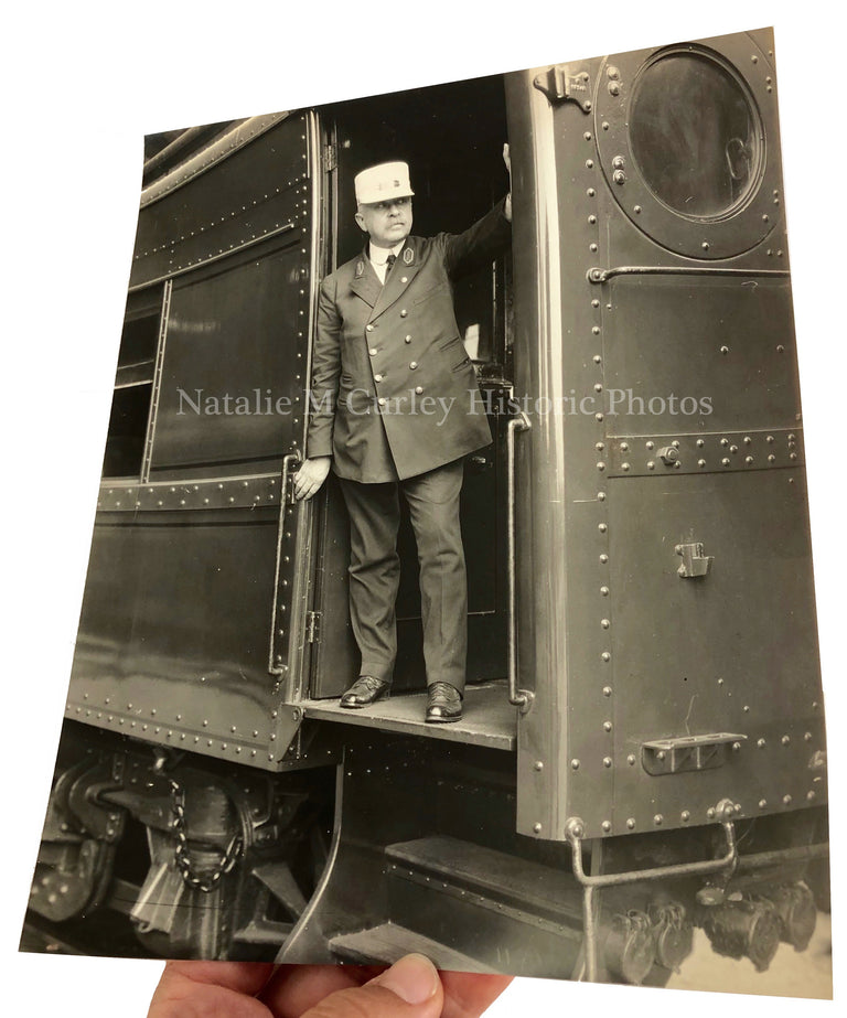 1910s PRR Railroad Signed Noted Photographer
