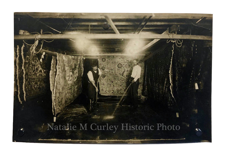 1920s Oriental Rug Cleaners Antique Occupational Photo