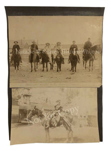 1900 Indian Native Trackers Guides Scout Photos