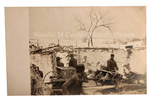 1920s Stone Masons Construction Labor RPPC Photos