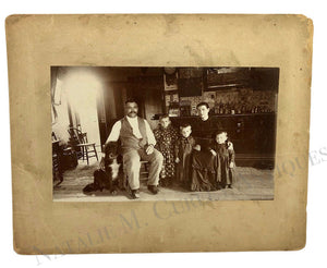 Vintage 1900s Family Tavern Bar Liquor Store Photo