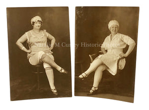 Atypical Women's Portraits 1900s Photographer's Collection