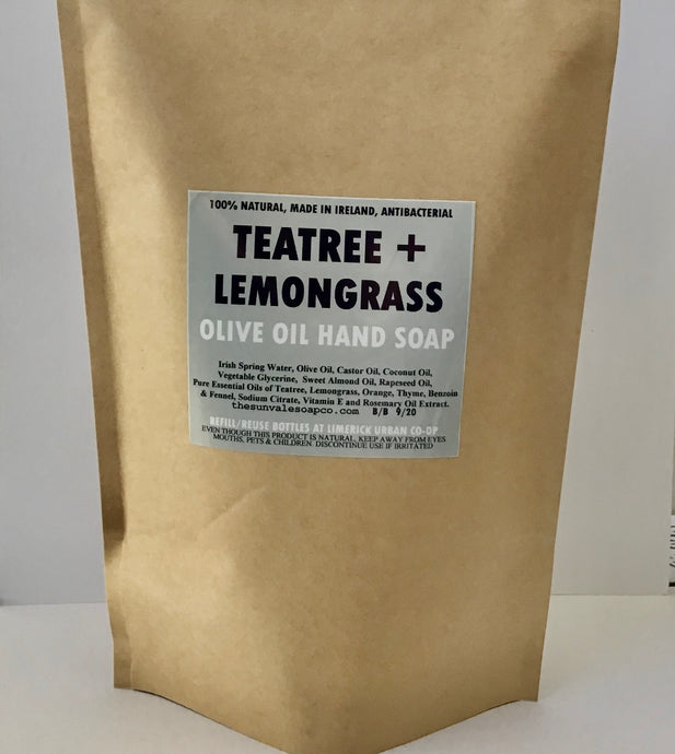 Teatree And Lemongrass Olive Oil Hand Soap Refill