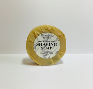 Lime And Clary Sage Shaving Soap