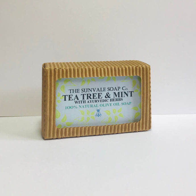 Teatree And Mint Olive Oil Soap