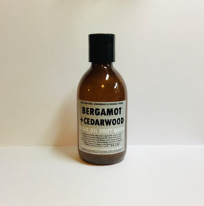 Bergamot and Cedarwood Olive Oil Body Wash