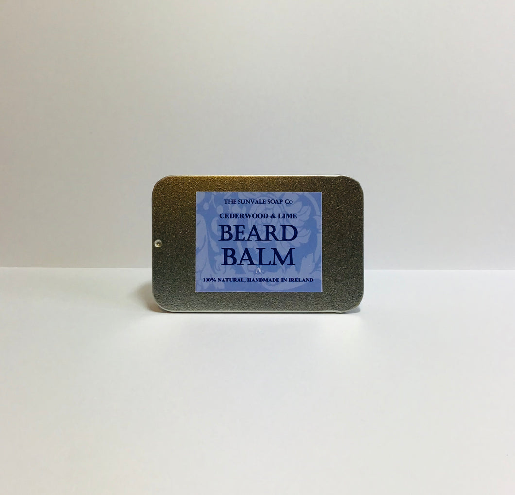 Cedarwood and Lime Beard Balm