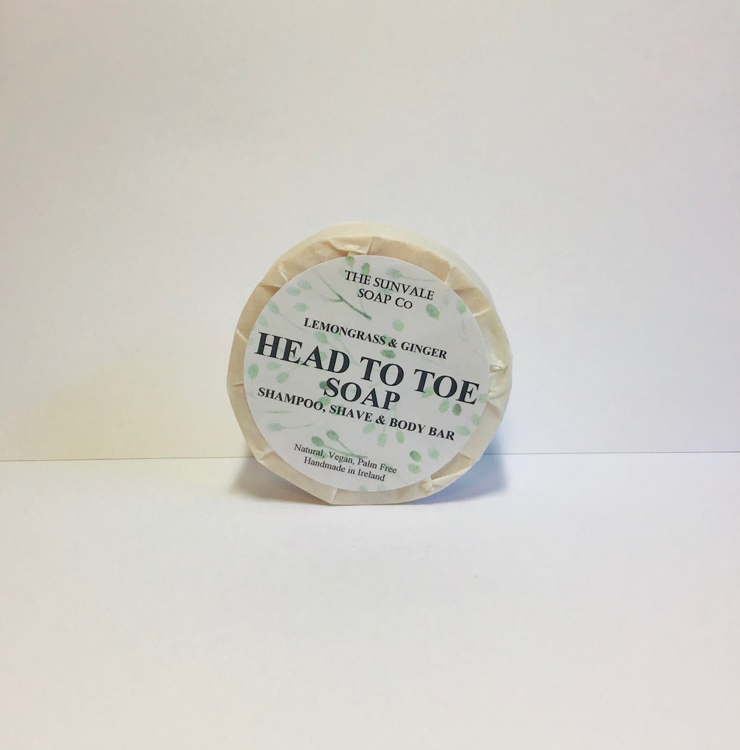 Head To Toe Soap - Lemongrass And Ginger.