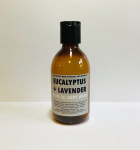 Eucalyptus And Lavender Olive Oil Body Wash