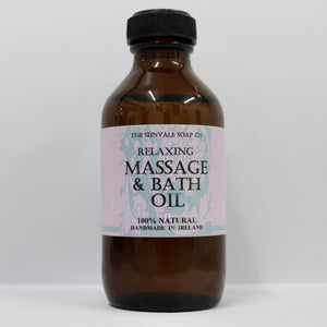 Relaxing Massage & Bath Oil