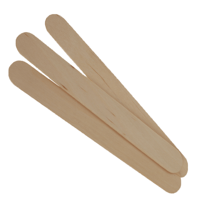 Large Wooden Spatula's (100)
