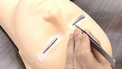 Mannequin Head Closed Eyes Eyelash Extensions Training Tool