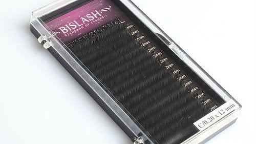 BIS PREMIUM SILK C Curl ONE LENGTH TRAYS  for eyelash extensions