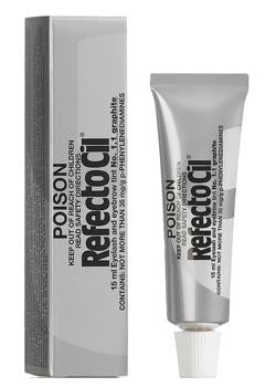 RefectoCil Lash and Brow Tint - R1.1 Graphite (BULK 12)