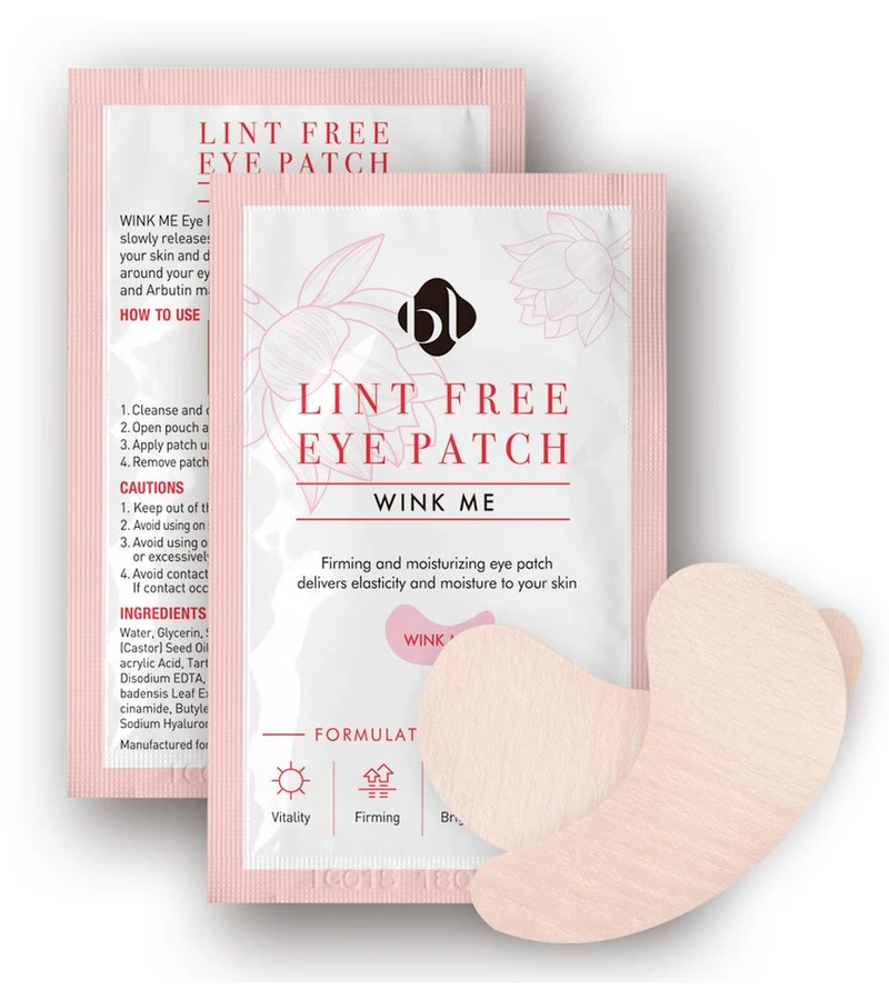 NEW FORMULA - WINK ME Under Eye Gel Collagen Pads /Patches for eyelash extensions