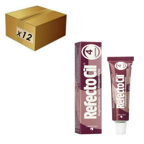RefectoCil Lash Tint - R4 Chestnut (BULK 12)