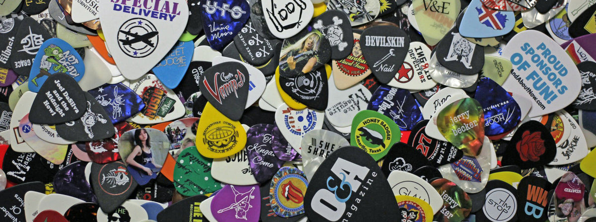 custom printed guitar picks