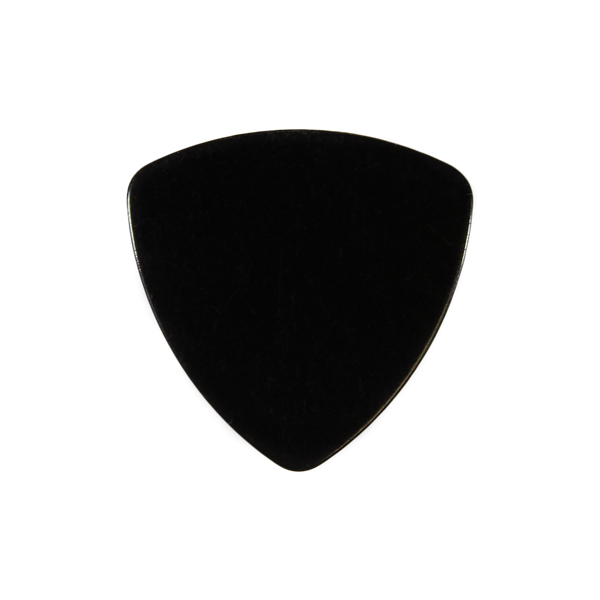 style 346 celluloid custom guitar pick black