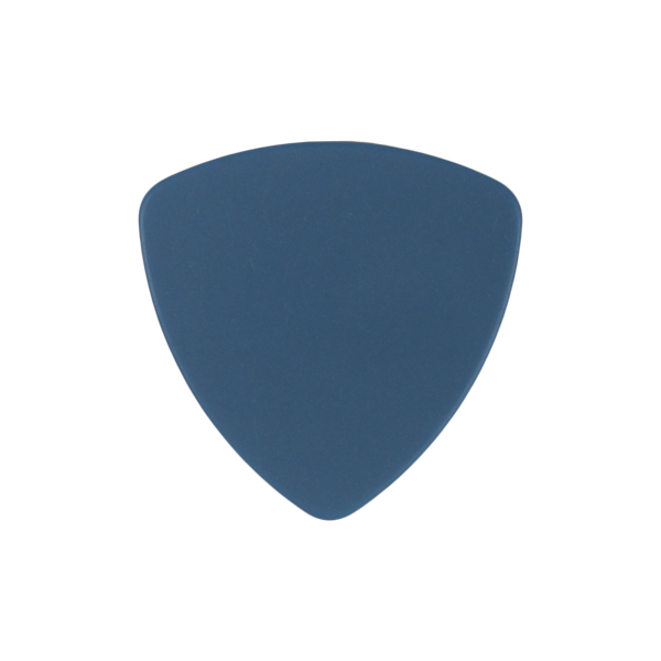 style 346 delrin custom guitar pick blue