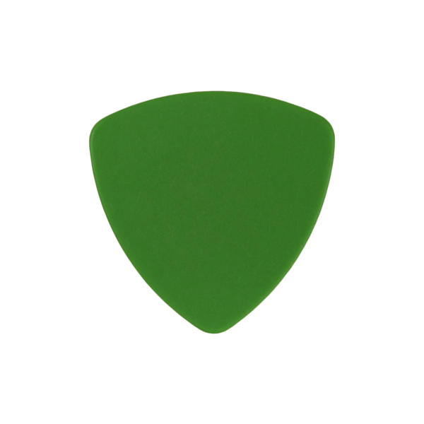 style 346 delrin custom guitar pick green