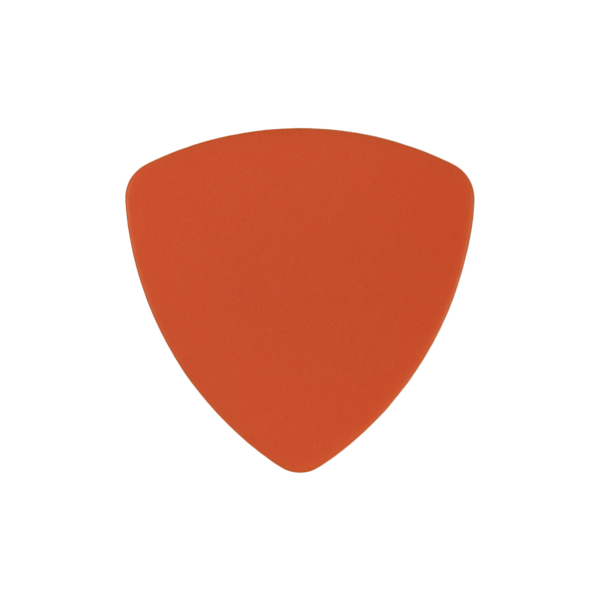 style 346 delrin custom guitar pick orange