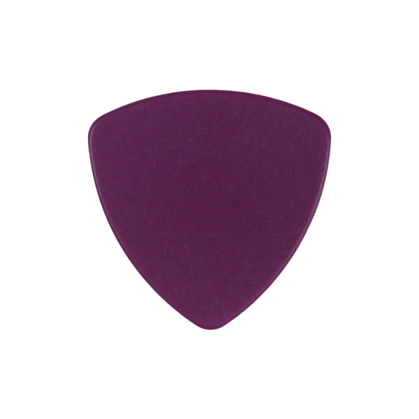 style 346 delrin custom guitar pick purple