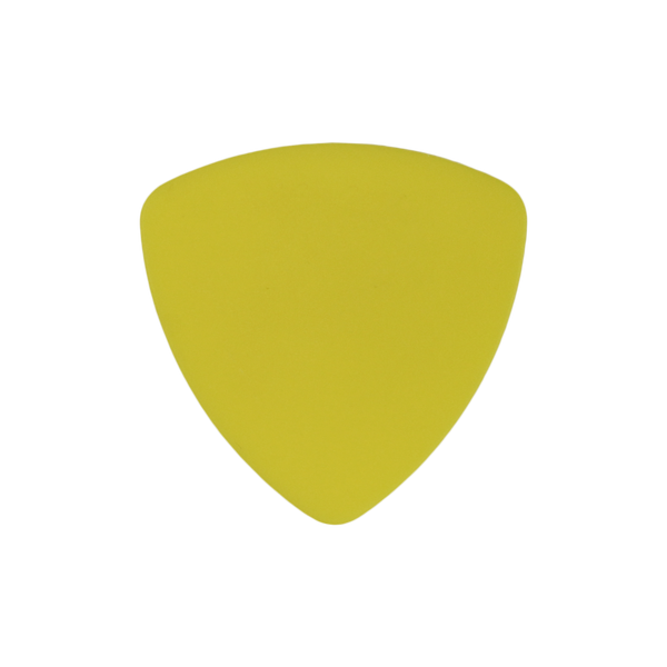 style 346 delrin custom guitar pick yellow