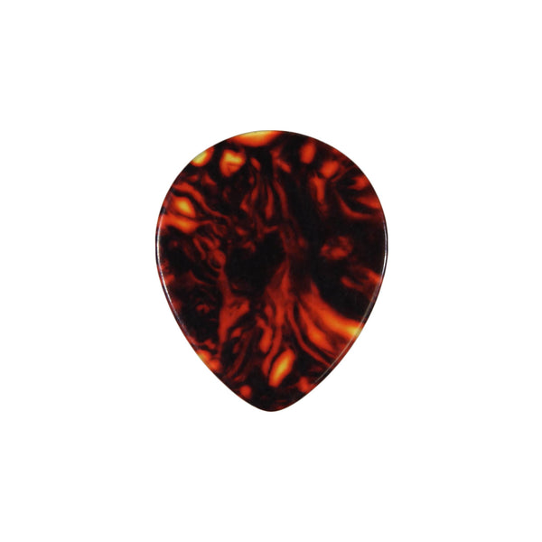 style 347 custom guitar pick celluloid tortoise shell
