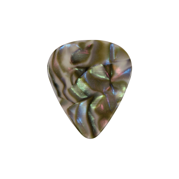 351  Celluloid  Abalone custom guitar pick
