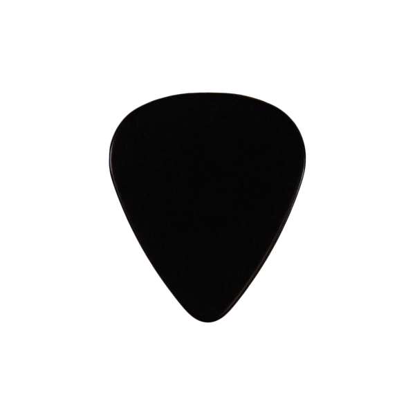 351  Celluloid  black custom guitar pick