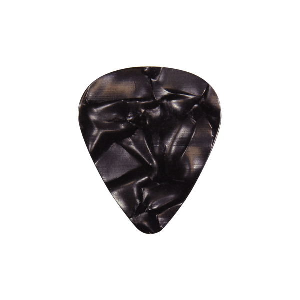 351 Celluloid black pearloid custom guitar pick