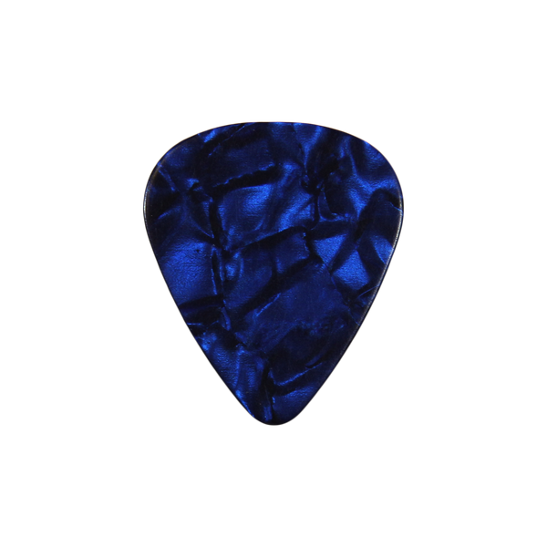 351 Celluloid blue pearloid custom guitar pick