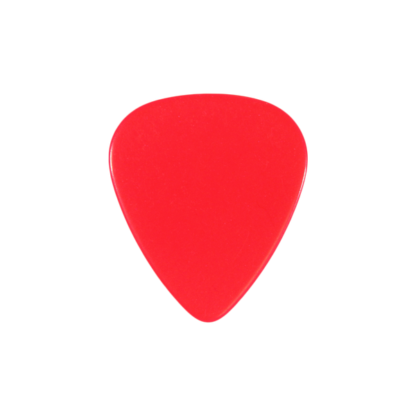 style 351 fresh red celluloid custom guitar pick